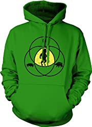Funny ManBearPig Hoodie - Man Bear Pig Venn Diagram Sweatshirt from Crazy Dog Tshirts