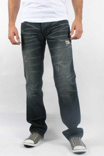 Affliction - Mens Ace Eleven Tantum Denim Jeans in Denim, Size: 30, Color: Denim
