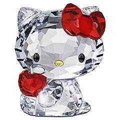 スワロフスキー SWAROVSKI クリスタル フィギュア Hello Kitty Red Apple (ハローキティ 赤リンゴ) Hello Kitty COLLECTION 1096878 「並行輸入品」
