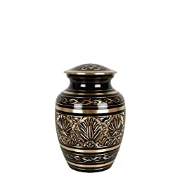 Perfect Memorials Gee Motif Small Cremation Urn Free Case