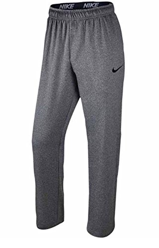 New Nike Men's Therma Training Pants Carbon Heather/Black X-Large