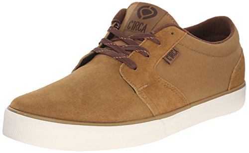 C1RCA Men's Hesh 2.0 Skate Shoe, Camel/Pinecone, 8.5 M US