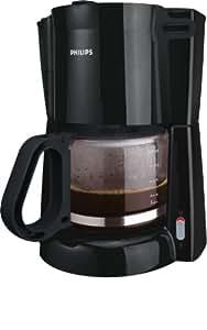 Philips HD7446/20 Basic Serie Kaffeemaschine  (900 W, 1 - 15 Tassen) schwarz