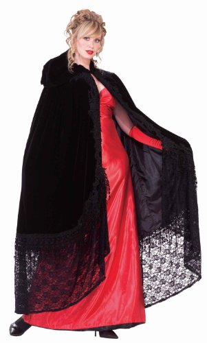 Forum Novelties Victorian Cape with Lace