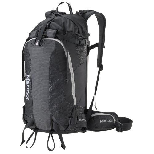 B00657EBT8 Marmot Backcountry 30 Pack, Black, One