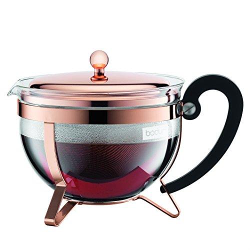 Bodum Chambord Copper Classic Teapot, 44 ounce (Chambord Teapot compare prices)