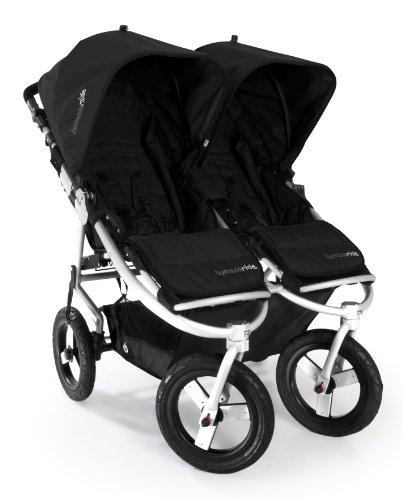 Bumbleride Indie Twin Stroller, Jet Black