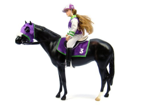 "Breyer ""Let's Go Riding!"" - Traditional Toy Horse Model with Rider"