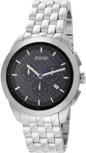 Joop  Legend Chrono Swiss Made - Reloj de cuarzo para hombre, con correa de acero inoxidable, color plateado