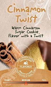 Joffrey's Cinnamon Twist Flavored Ground Coffee - Decaf - 1 Pound