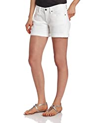 Lucky Brand Women's Abbey Double-Roll Short