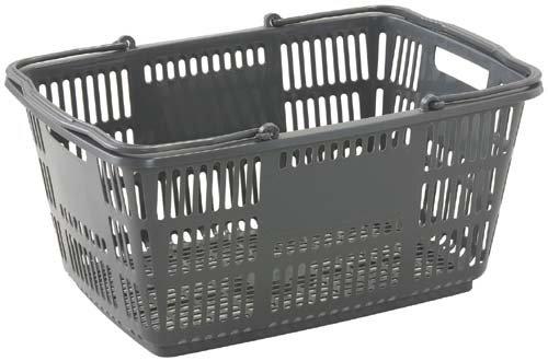 ショッピングバスケット33LDグレー