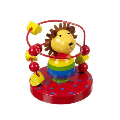Orange Tree Toys Bead Frame Lion - 1