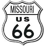 TIN SIGN Route 66 Missouri