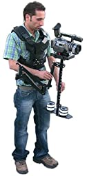FLYCAM 5000 Camera System with Comfort Arm and Vest - FREE Arm Brace & Table Clamp