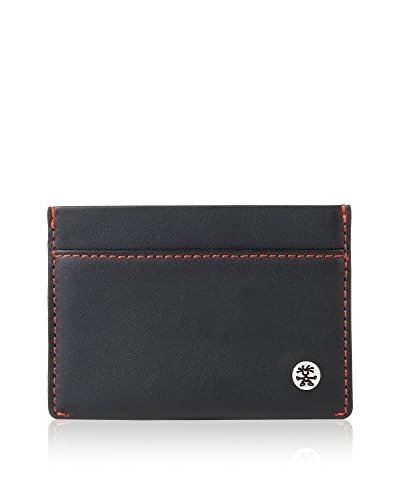 Crumpler Portacarte Trust Card Holder [Nero/Arancione]
