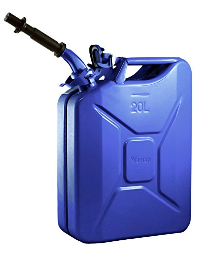 wavian-usa-jc0020blvs-authentic-nato-jerry-fuel-can-and-spout-system-blue-20-litre