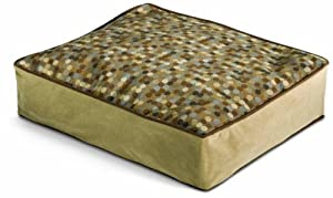 Crypton Molly B. Luxury Pet Bed, Large, Dottie Dot Neutral