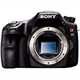 Sony SLT-A65V 24.3 MP Digital SLR with Translucent Mirror Technology - Body Only