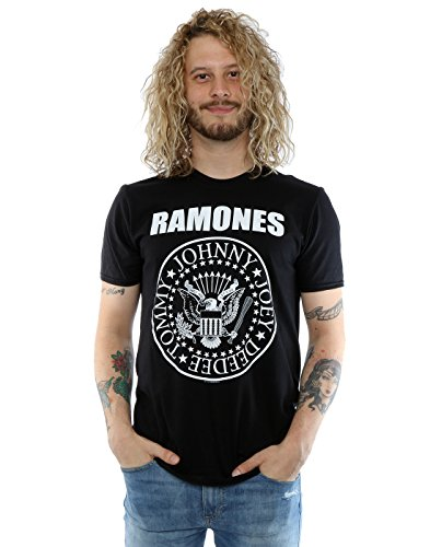Ramones Uomo Presidential Seal T-Shirt Small Nero