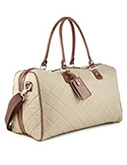 Double Handle Quilted Holdall