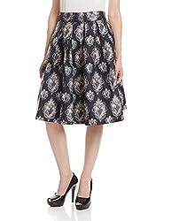 Kazo Women's Frills Skirt (112711BLACKS)