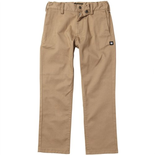 Dc Apparel - Kids Little Boys' Worker Pant, Khaki, 3T front-1025876