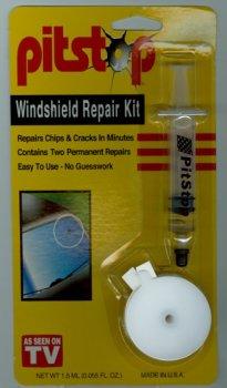 Pitstop Windshield Repair Kit