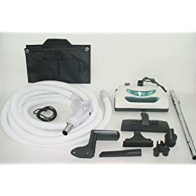 Central Vacuum kit with Power Head for Beam Electrolux Nutone