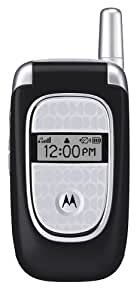 Motorola V190 Unlocked Phone Quad-Band GSM, MP3, and SpeakerPhone--U.S. Version with Warranty (Black)