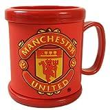Manchester United マンチェスターユナイテッド マグカップ プラスティック製 レッド