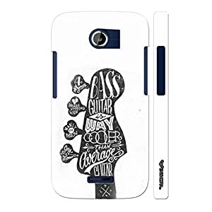 Micromax Canvas A117 Bass Guitar is cooler designer mobile hard shell case by Enthopia