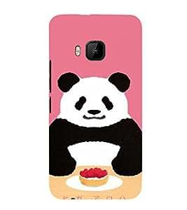 EPICCASE Panda food Mobile Back Case Cover For HTC One M9 (Designer Case)