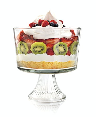 Make Layered Mexican Christmas Eve Salad in a Anchor Hocking Monaco Trifle Bowl