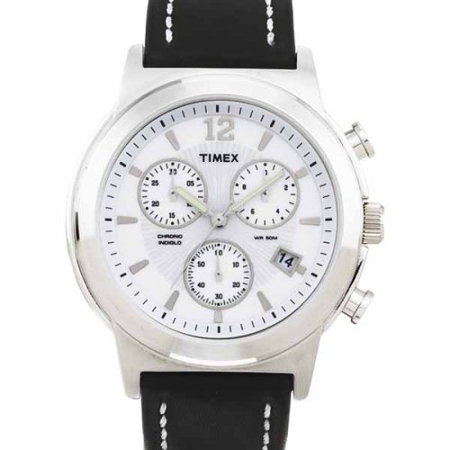 Timex Men's Chronograph Leather Band Watch #T23831 - Buy Timex Men's Chronograph Leather Band Watch #T23831 - Purchase Timex Men's Chronograph Leather Band Watch #T23831 (Timex, Jewelry, Categories, Watches, Men's Watches, Dress Watches, Leather Banded)