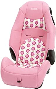 Cosco High Back Booster Car Seat, Abby Lane