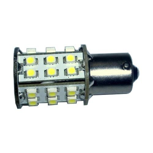 Hqrp Led Bulb For Stanley A4527, Sylvania 1141 36377 36377, Toshiba A5520J, Trifa 1353, Tungsram 1059, Turner 330-058 Replacement Ba15S 30 Leds Smd Cool White + Hqrp Uv Meter