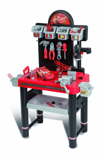 jeux et jouets smoby 500211 jeu d 39 imitation bricolage etabli bricolo center cars 2 on. Black Bedroom Furniture Sets. Home Design Ideas