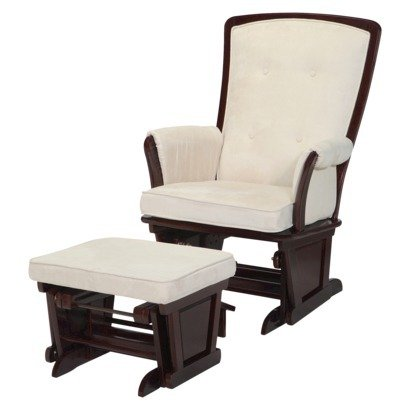 Baby Glider And Ottoman front-113213
