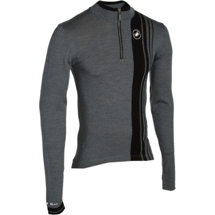 Buy Low Price Castelli Costante Wool Long Sleeve Jersey (B005JXD5YG)