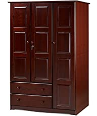 100% Solid Wood Grand Wardrobe/Armoir…