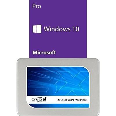 Microsoft Windows 10 Pro 64 Bit System Builder OEM | PC Disc