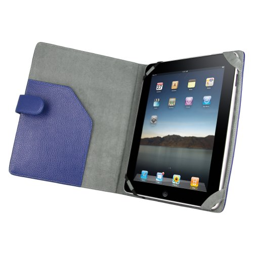 (Many Color Option) iPad Leather case book folio jacket cover for Apple iPad 1st Generation 16GB, 32GB, 64GB Wifi and 3G