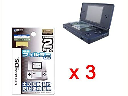 3 PCS NEW SCREEN PROTECTOR SHIELD for NDS(DS) LCD