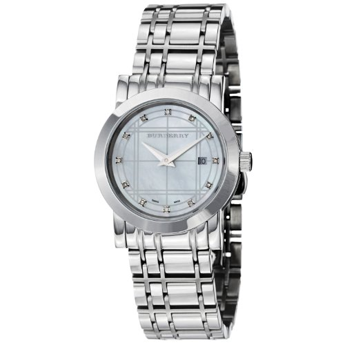 Burberry Women's BU1370 Heritage Stainless Steel Bracelet Watch