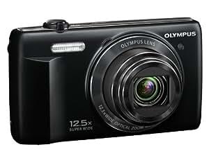 Olympus Stylus VR-370 Appareil photo numérique 16 Mpix Zoom optique 12,5x Noir