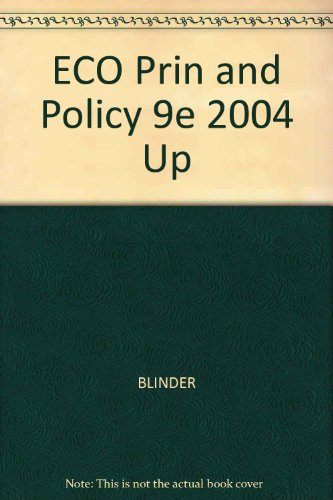 ECO Prin and Policy 9e 2004 Up