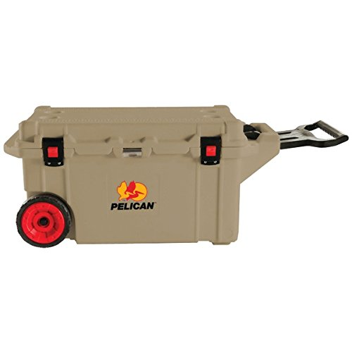 PELICAN 32-80Q-OC-TAN 80-Quart ProGear(TM) Elite Wheeled Cooler (Tan) (80 Qt Cooler Pelican compare prices)