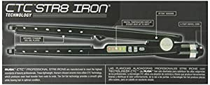 RUSK Engineering CTC Technology Professional Straight Iron, 1.25 Inch, 1 lb.