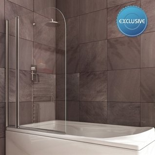 Infinity Double Curved Shower Bath Screen